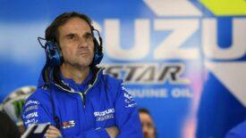 Davide Brivio elhagyja a Suzuki Ecstar csapatot