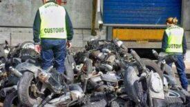 Illegális hulladékként akartak bontott alkatrészeket csempészni Olaszországból Afrikába