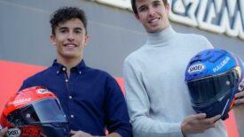 Újabb 4 évre írtak alá együttműködést a Shoei és a Marquez testvérek