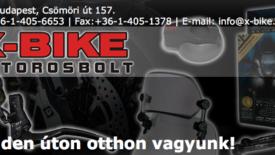 Az X-Bike segítséget kér, hogy segíthessen!