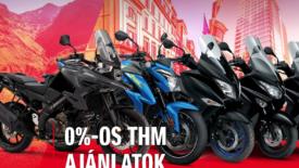 0-% THM ajánlatok a Suzukitól