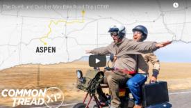 Két barát megismételte Dumb és Dumber mini motor utazását Aspenbe