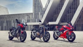 A Honda, A2-es jogosítvánnyal vezethető, 500-as triója vadonatúj fejlesztésekkel lép színre 2022-ben