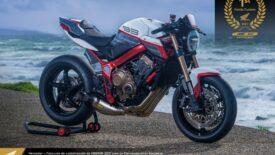 Kiválasztották a legszebb európai Honda-márkakereskedés által átépített CB650R-t