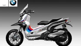 Oberdan Bezzi: BMW C 400 GS robogó koncepció