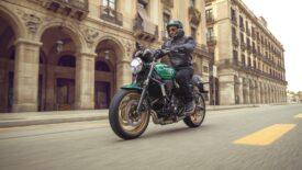 Kawasaki Z650RS –  kistestvér retro stílusban